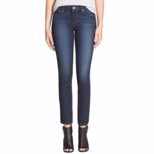 PAIGE Skyline Ankle Peg Denim Jeans in Reynolds